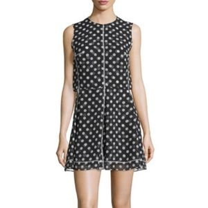 McQ Alexander McQueen Sleeveless Polka-Dot Dress